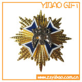 Изготовленный на заказ значок Pin логоса печатание с Epoxy верхней частью (YB-Lp-053)