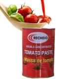 pasta de tomate vegetal enlatada 400g
