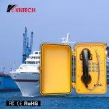 2017 à usage intense Koontech Téléphone Téléphone industriel Marine Knsp-01 pour l'environnement les plus extrêmes