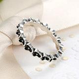 Nuovi anelli dell'argento sterlina di arrivo 925 per l'anello accatastabile dei monili di eleganza floreale delle donne