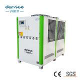 Doubles compresseurs 30HP de Danfoss au refroidisseur d'eau 60HP industriel refroidi par air portatif
