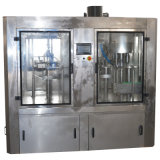 ガラス天然水びん詰めにする機械