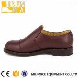 ブラウンカラー牛革ユニフォームの靴