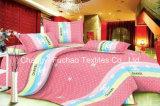 ホームのためにセットされる多彩な花模様のタケMicrofiber平野によって染められる安いセットの寝具