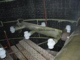 発電所使用されたFRPのスプレーの管