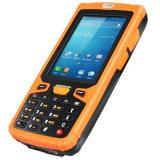 Android de 3,5 pulgadas, lector de código de barras de cuatro núcleos PDA teléfono 3G