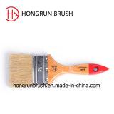 Деревянная щетка краски ручки (HYW0431)