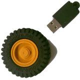 カスタム3Dロゴの昇進のギフトPVCゴム製USBのフラッシュ駆動機構