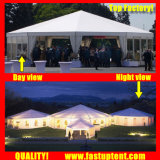 New Product Show Diameter 12m 150 People Seater Guest를 위한 공급자 Solid Wall Multi Side Tent