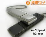 Preiswerter Metallgeschenk USB-Plattenspeicher (OM-M108)