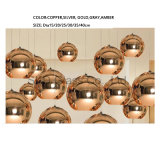 E27 Lichten van de Tegenhanger van het Glas van Kleuren de Beschikbare Geblazen voor het Restaurant van de Staaf