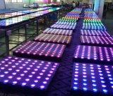 Танцевальная площадка цифров портативная используемая СИД диско венчания цветастая для сбывания