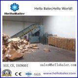 7-10 tonnes de déchets de papier Semi-automatique hydraulique de la ramasseuse-presse