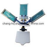 4 Farben-manuelle Textilbildschirm-Drucker-Maschine