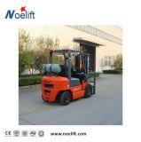 内部燃焼のフォークリフト3000kg 3500kg 3m-6mガソリンおよびLPGのフォークリフト