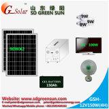 Fonte de energia solar autônoma 180W para residência / residencial