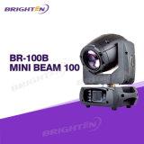 LED Beam 100W Mini Moving Head Stage Lights pour DJ
