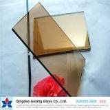 Vidrio de flotador teñido para el vidrio decorativo del vidrio/edificio