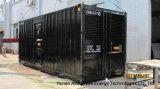 80квт контейнерных установок по производству биогаза генератор/ТЭЦ для клиента на французском языке