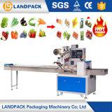 Terra de frutas e legumes da marca da máquina de embalagem