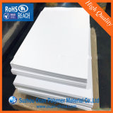 1220*2440mm Glanzend Zwart-wit 1mm 4X8 pvc- Blad