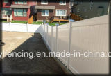 Hochwertiger weißer Farben-Privatleben Belüftung-Zaun