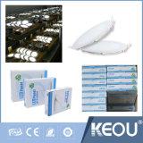Indicatore luminoso di comitato sottile di vendita LED della fabbrica SKD 12W 100lm