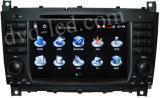 ベンツのCクラスW203のベンツのClcのベンツのGクラスW467無線GPS BluetoothのiPod HD LCDの運行のための車のDVDプレイヤー
