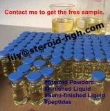 Testoterone semifinito Enanthate 300 delle fiale dell'iniezione dell'olio di Enanthate 250 del testoterone