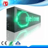 P10 옥외 LED 이동하는 표시 프로그램 LED 두루말기 Messag 3 색 널
