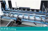 Completamente automática de la carpeta de cartón corrugado Gluer y máquina de embalaje (GK-1800PC).