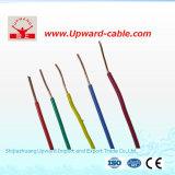 Fio de cobre elétrico & cabo de H07V-U para o edifício