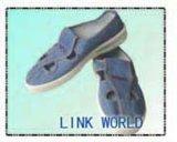 청정실을%s 청바지 또는 파란 화포 또는 백색 PVC Linkworld 정전기 방지 ESD 안전 일 단화