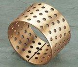 Fb092 Rolamentos embrulhados em bronze com um dos rolamentos simples através dos orifícios da bucha do rolamento
