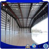 Hangar prefabricado de alta resistencia del aeroplano de la estructura de acero para la venta