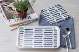 """De melamine """"Frankrijk draagt """" Houseware Tray/100% het Vaatwerk van de Melamine (FB9002)"""