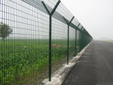 PVC Ciated Airport Fence Fr3と電流を通される