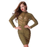Manchon Long dress Robe sexy robe de bandage