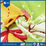 綿の反応印刷されたカスタム昇進のビーチタオル