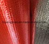Feuer-Beweis-Aluminiumfolie-unterstütztes Fiberglas-Tuch
