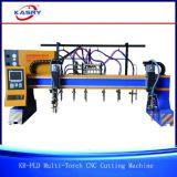 CNC van de multi-toorts Scherpe Machine voor de Lijn van het Lassen van de Straal van H
