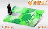 USB Flash Drive Completo de Impresión en Color de Tarjetas de Crédito de Plástico (OM-P508)