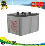 2000ah 2V Bateria de gel para sistema de energia eólica e solar