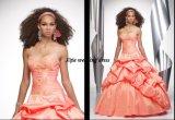 100% ha garantito 2011 la a - linea vestiti senza bretelle da promenade/vestiti da Quinceanera/vestiti da cocktail (9052)