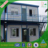 Дом контейнера двойного этажа Prefab