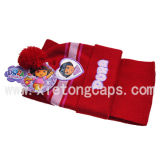 Связанные Hat и Scarf Set для Kids (JRK101, JRK102, JRK103)