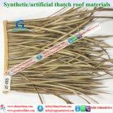 De synthetische Palm met stro bedekt Kunstmatig met stro bedekt voor Toevlucht 8 van de Glans van de Staaf van Tiki van de Hut Tiki