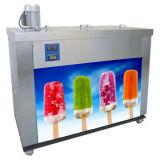 Можно установить 4 пресс-форм Popsicle льда машины для транспортировки поддонов
