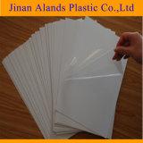 Buen precio autoadhesivo PVC hojas para álbum de fotos
