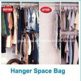 Armario de gancho de untar Bolsa de almacenamiento para ahorrar espacio